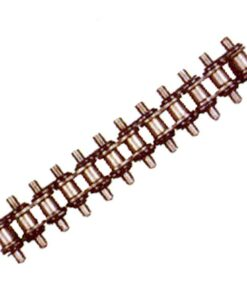 Block type shaving scraper chain