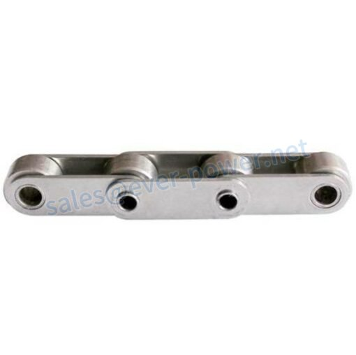 Rollerless chain