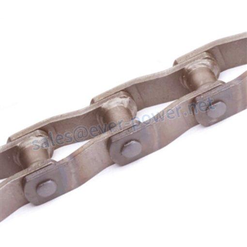 Welded steel offset type mill chain