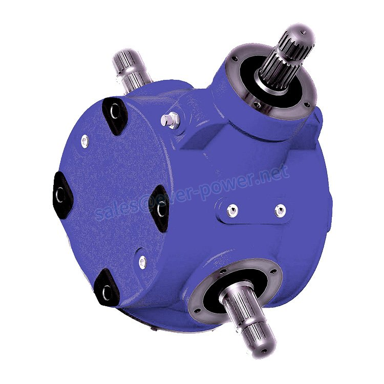 Agricultural Gearbox For Flail Mowers