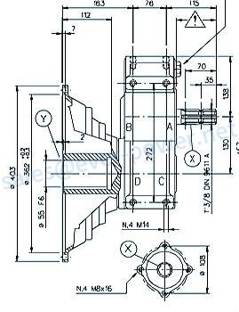 Agricultural Pto Gearboxes For Powered Generator