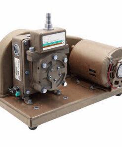 Belt drive 2X rotary vane vacuum pump