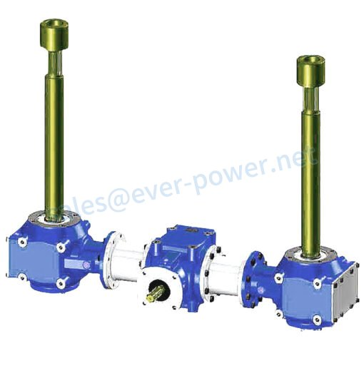 Gearbox For Concrete Mixers