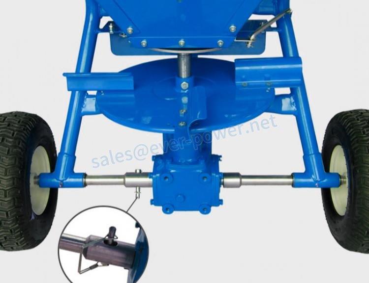Gearbox For Fertiliser Spreaders