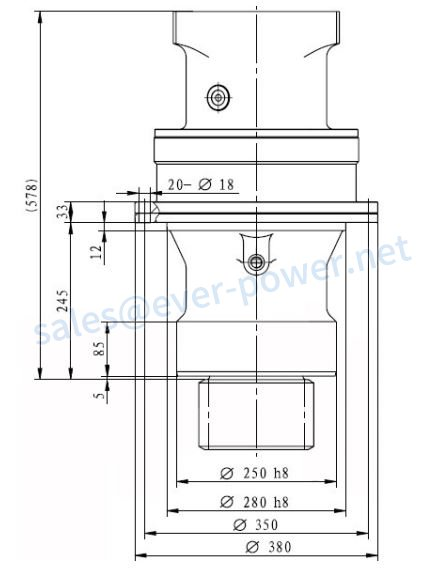 Hydraulic Swing Drive Motor