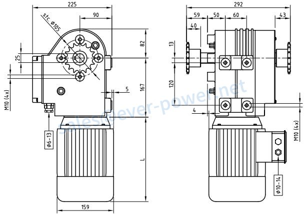 Motor Gearboxes For Hoisting Systems