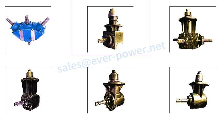 Slasher gearboxes