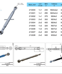 Top Link Assemblies - Top Link Assembly 247x296