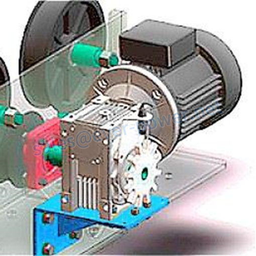 Worm Gearbox For Automatic Car Wash Machine 11