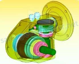 Gearbox And Reducer For Crop Storage Drive Systems