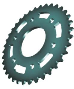 Aluminum Roller Chain Sprockets - Aluminum Roller Chain Sprockets 1 2 247x296