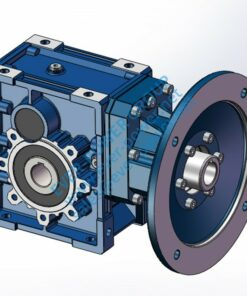 BKM series high efficiency hypoid gear box