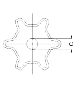 Cast Iron Sprockets For Detachable Chain 1
