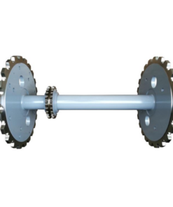 Chains And Sprockets Drive Shaft Escalator