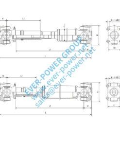 Drive shaft for TOYOTA - Drive shaft for TOYOTA 1 1 247x296