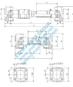 Drive shaft for TOYOTA - Drive shaft for TOYOTA 3 247x296