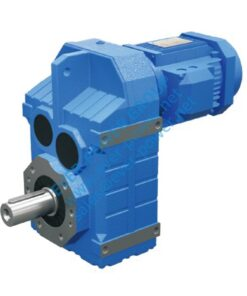 EF series helical bevel gear motor
