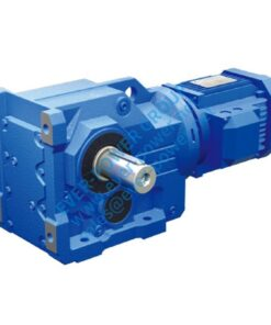 EK series helical-bevel gear motor