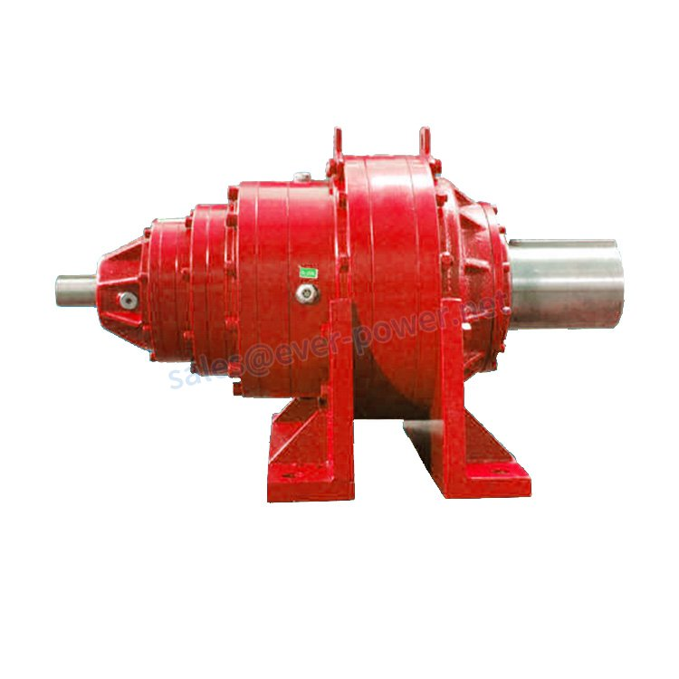 EPW planetary gearboxes with foot dimensions