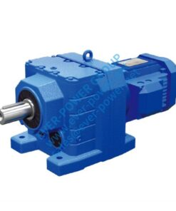 ER series helical geared motor