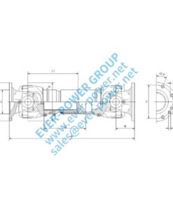Heavy cardan shaft - Heavy cardan shaft 1 1 247x296