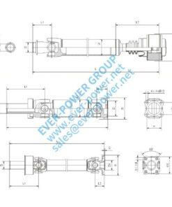 Light duty drive shaft - Light duty drive shaft 1 1 247x296
