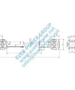 Light duty drive shaft - Light duty drive shaft 1 6 247x296