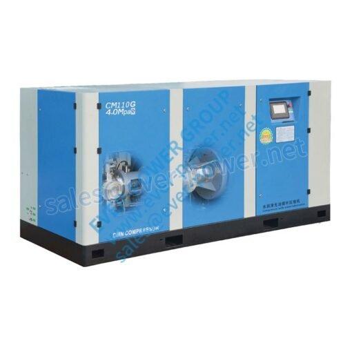 Medium preseeure oil free screw air compressor