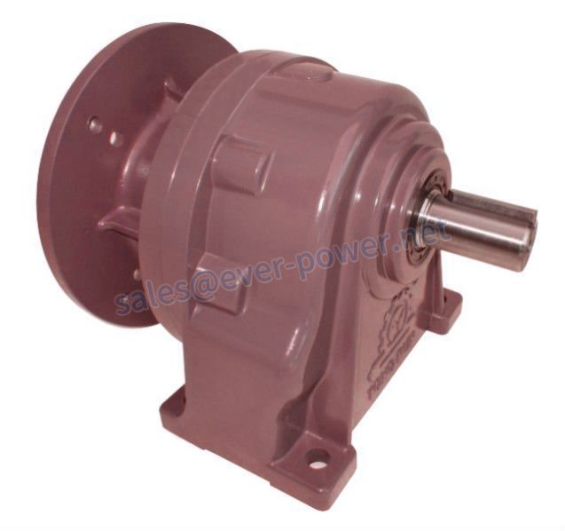 Planetary uni-axis twin output shaft speed reducers