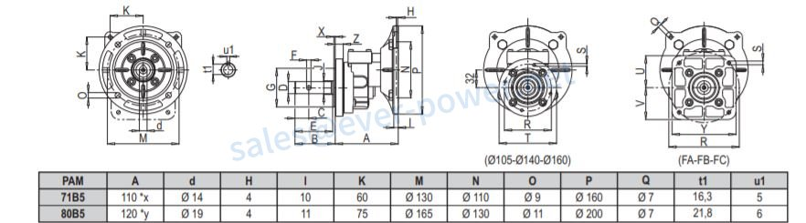 Poultry and Pig Geared Motors For Feeding Systems
