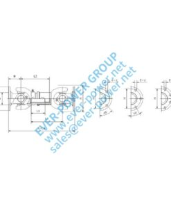 Short type transmission shaft assembly (SA) - Short type transmission shaft assembly SA 1 247x296