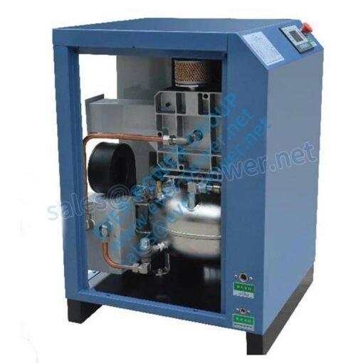 Single air end air compressor