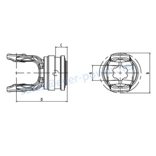 Speedlash SP Series for PTO drive shafts
