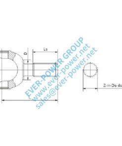 Spline shaft fork (SS) - Spline shaft fork SS 1 247x296