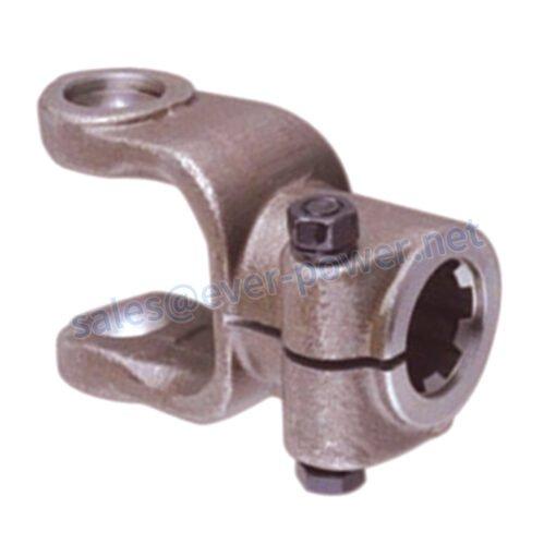Splined yoke 02 interfering-bolt for agricultural pto shaft