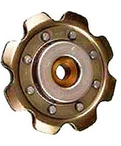 Stamped idler sprockets 1