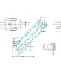 Steering joint assembly series (SGA SGB)