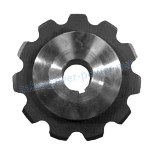 Straight Sidebar Welded Steel Chain Sprockets 1