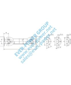 The fixed transmission shaft assembly (FB) - The fixed transmission shaft assembly FB 1 247x296