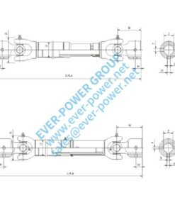 The fixed transmission shaft assembly (NFB NFC)