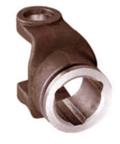 Triangular yoke for agricultural pto shaft 1