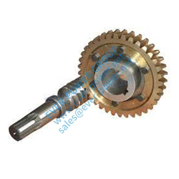 worm gear shaft