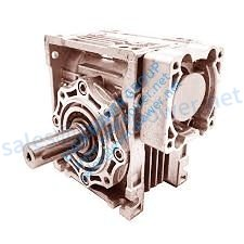Size 40 Right Angle Worm Gearbox 60:1 Ratio 47 RPM Motor Ready Type NMRV