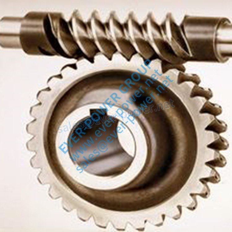 worm and wheel steering gear