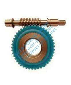 worm at pinion gear