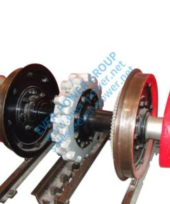 Gear Rack For Railway Axle