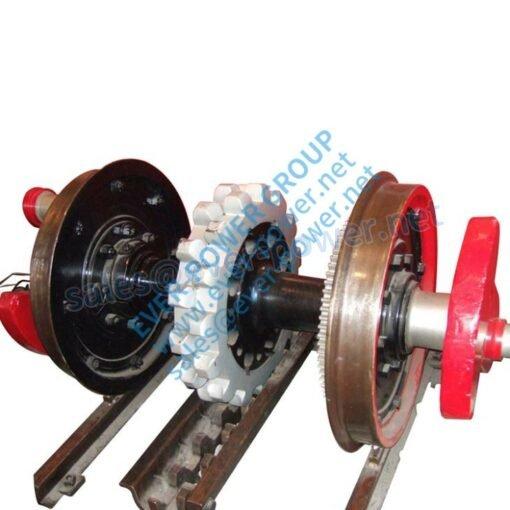 Gear Rack For Railway Axle