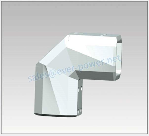 Cantilever Bracket - 90 degree corner 44 60 40