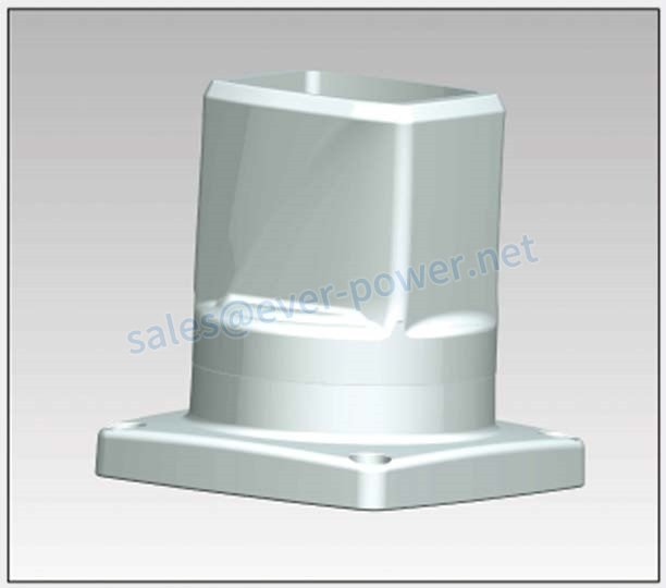 Cantilever Bracket - Rotatable base 55 75 10 50
