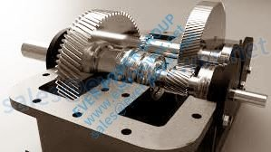 Two Stage Helical Gearbox